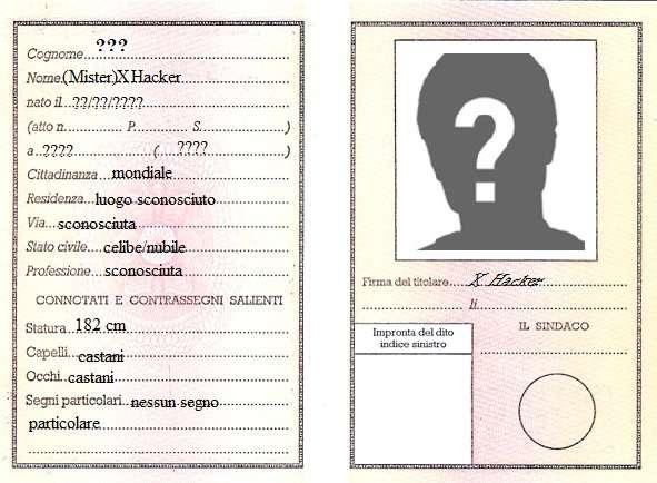 Servizio Di Traduzione Giurata Della Carta Di Identit 224 I