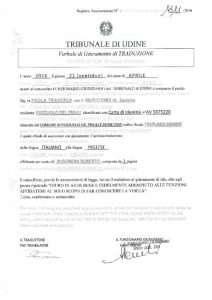 Traduzioni giurate tribunale milano roma e tutta italia for Traduzione da spagnolo a italiano