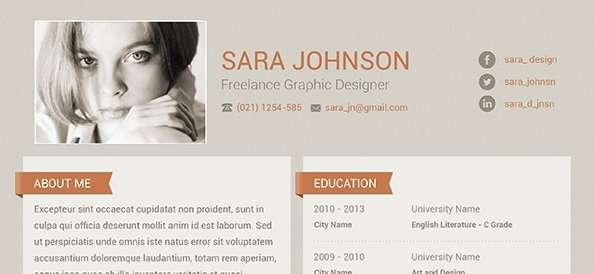 free-psd-creative-resume-design-cv